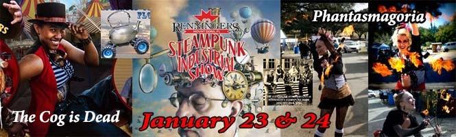 ISteampunk Industrial Show at Renninger's Mount Dora, FL.