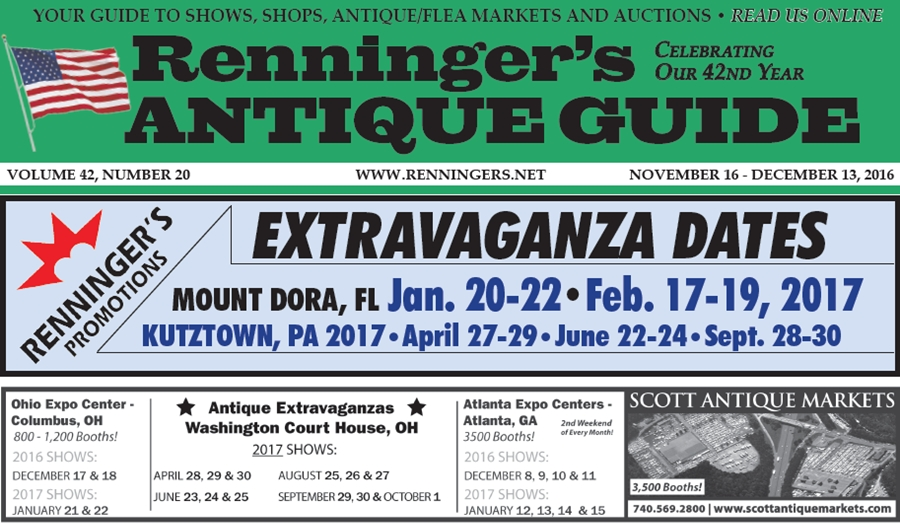 IRead the November 16th Issue of Renninger's Guide