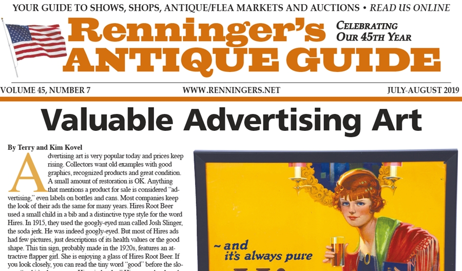 IRead the July-August 2019 Issue of Renninger's Guide