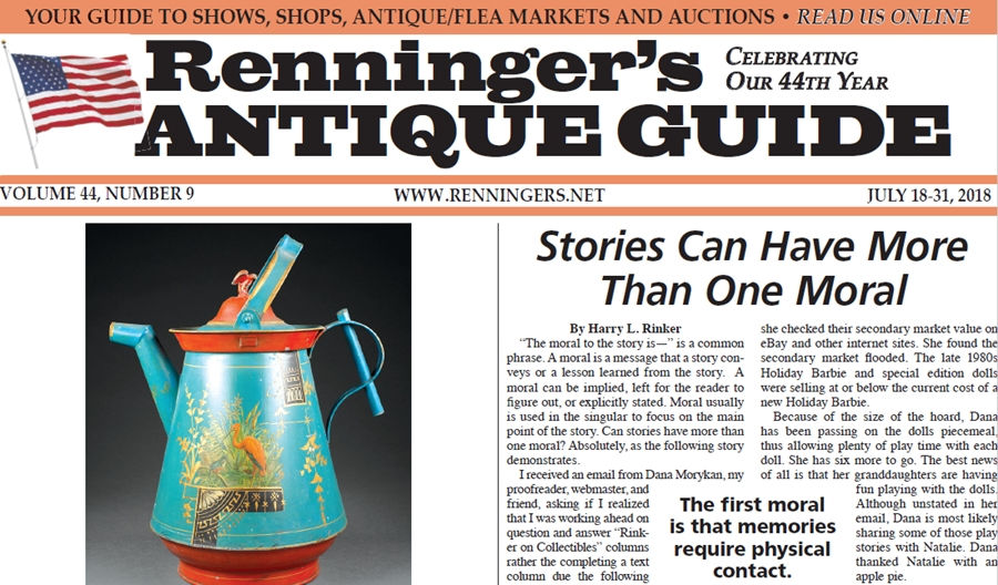IRead the July 18th Issue of Renninger's Guide