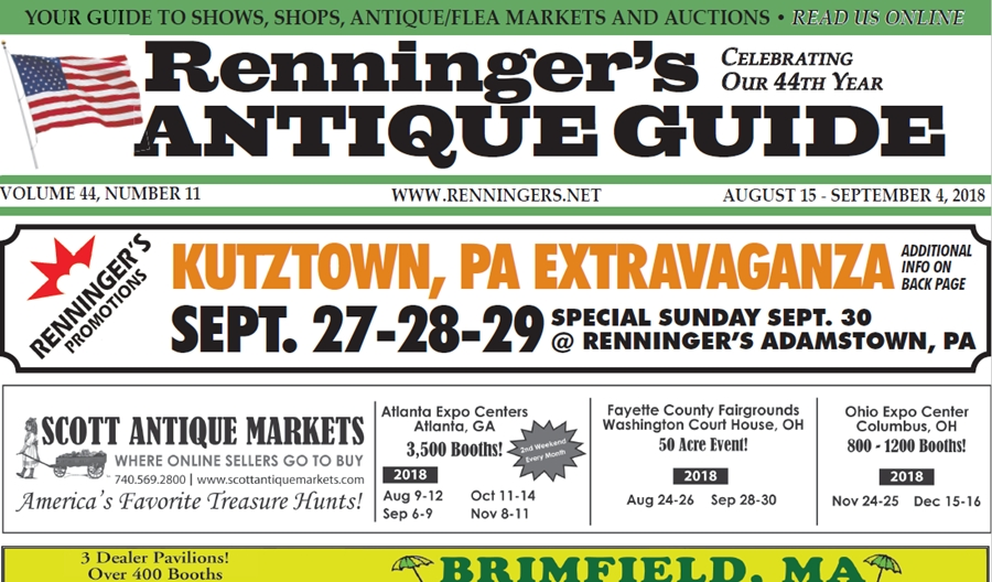 IRead the August 15th Issue of Renninger's Guide