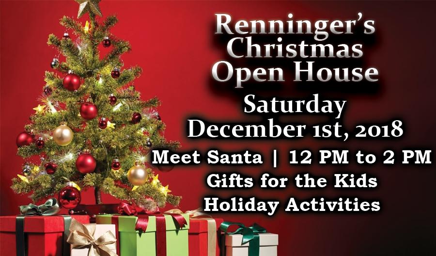 IKutztown Christmas Open House December 2nd
