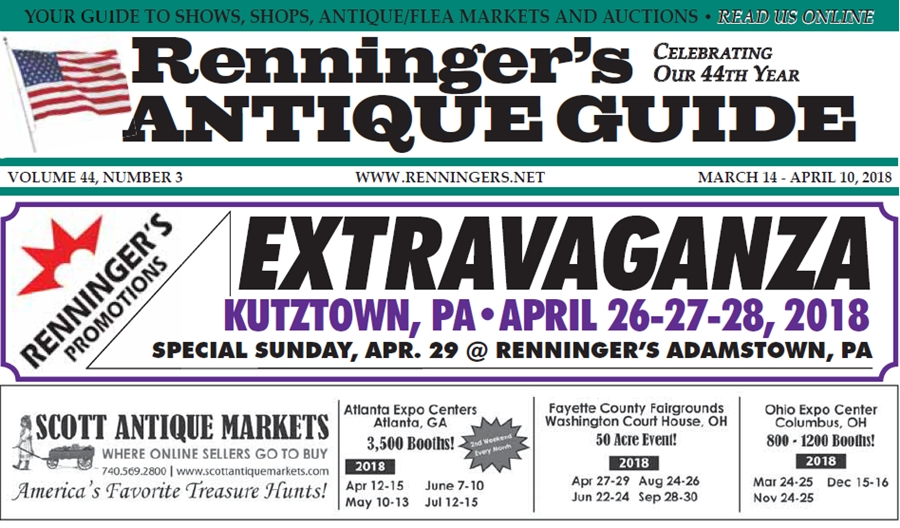 IRead the March 14th Issue of Renninger's Guide