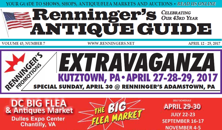 IRead the April 12th Issue of Renninger's Guide