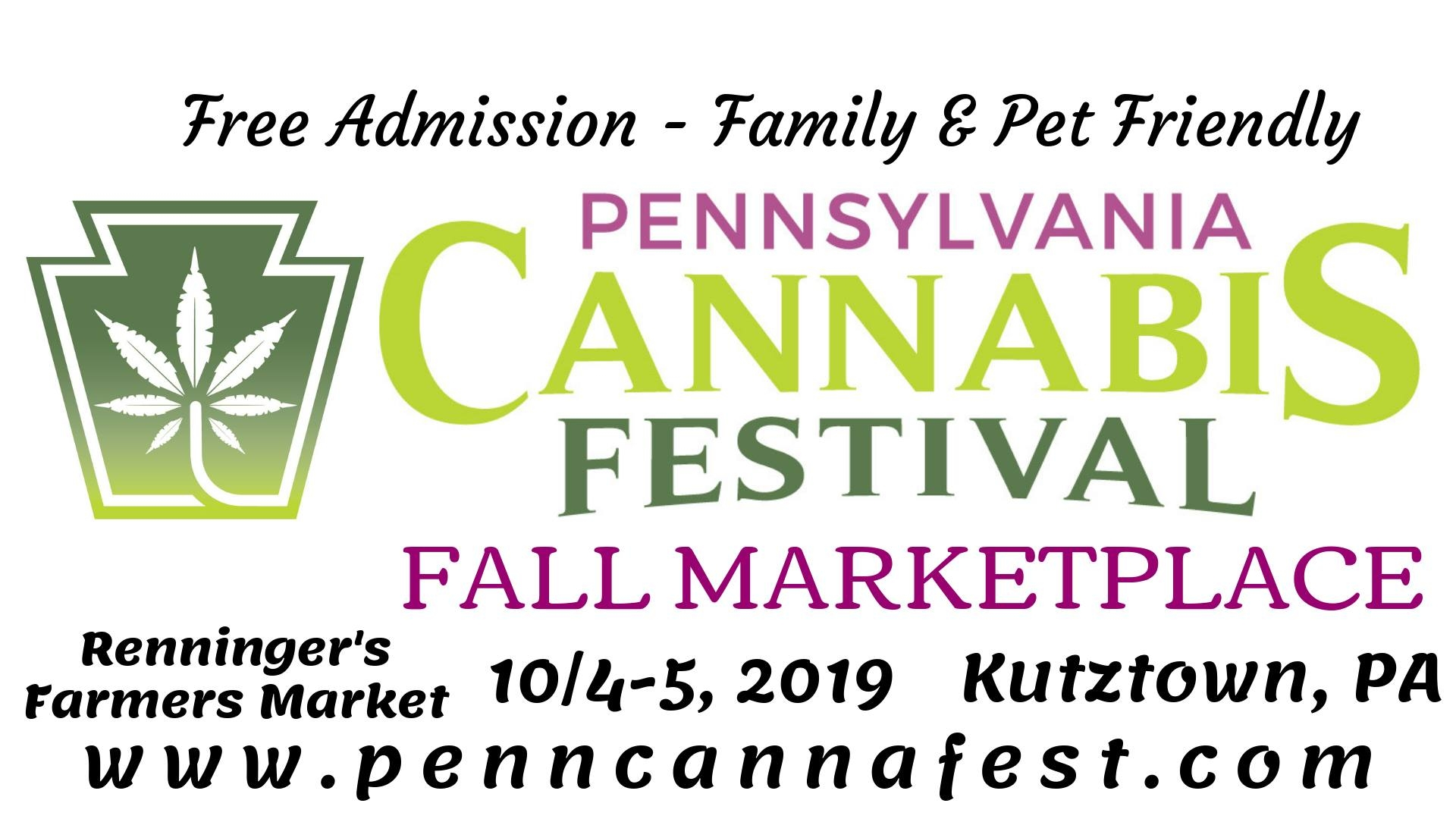 IPennsylvania Cannabis Festival - Fall Marketplace (Kutztown, PA)