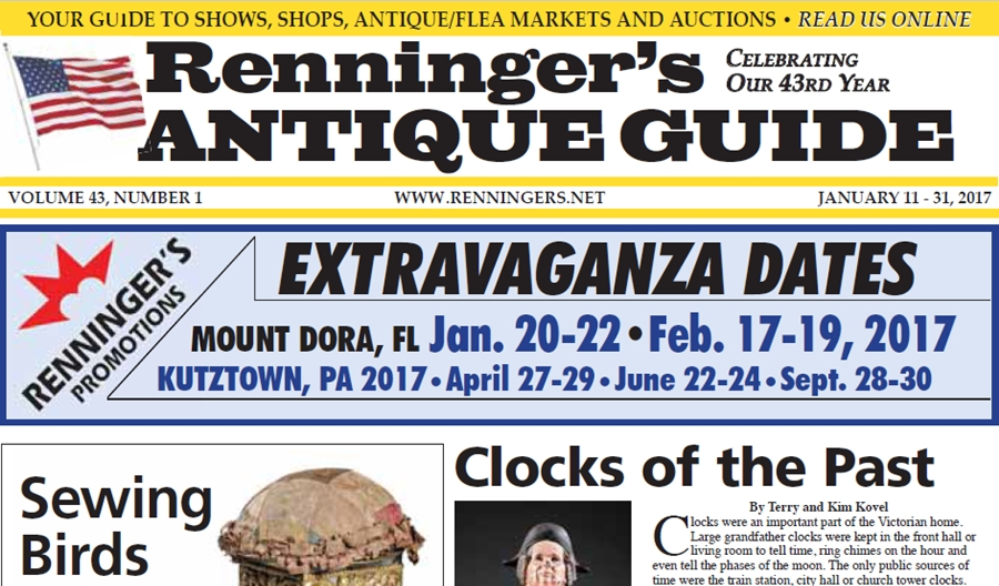 IRead the January 11th Issue of Renninger's Guide