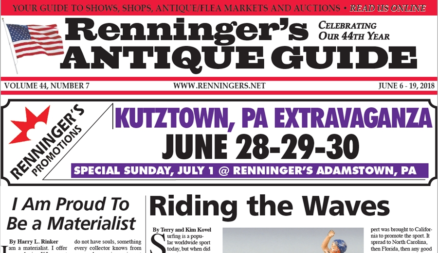 IRead the June 6th Issue of Renninger's Guide