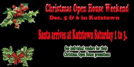 IMarket Christmas Open House Kutztown