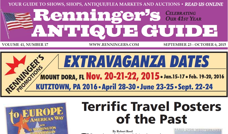 IRead the September 23rd Issue of Renninger's Guide