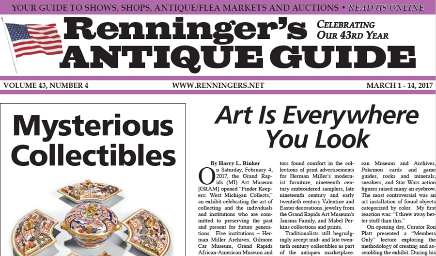 IRead the March 1st Issue of Renninger's Guide