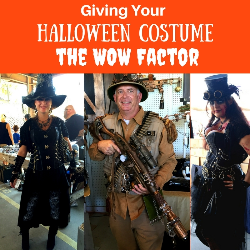 IGiving Your Halloween Costume the WOW Factor