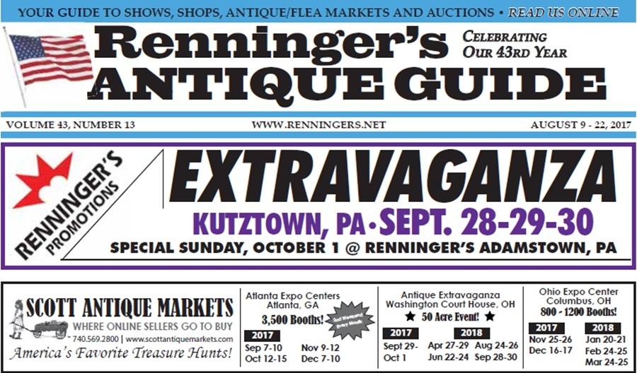 IRead the August 9th Issue of Renninger's Guide