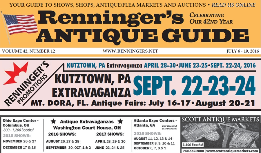 IRead the July 20th Issue of Renninger's Guide