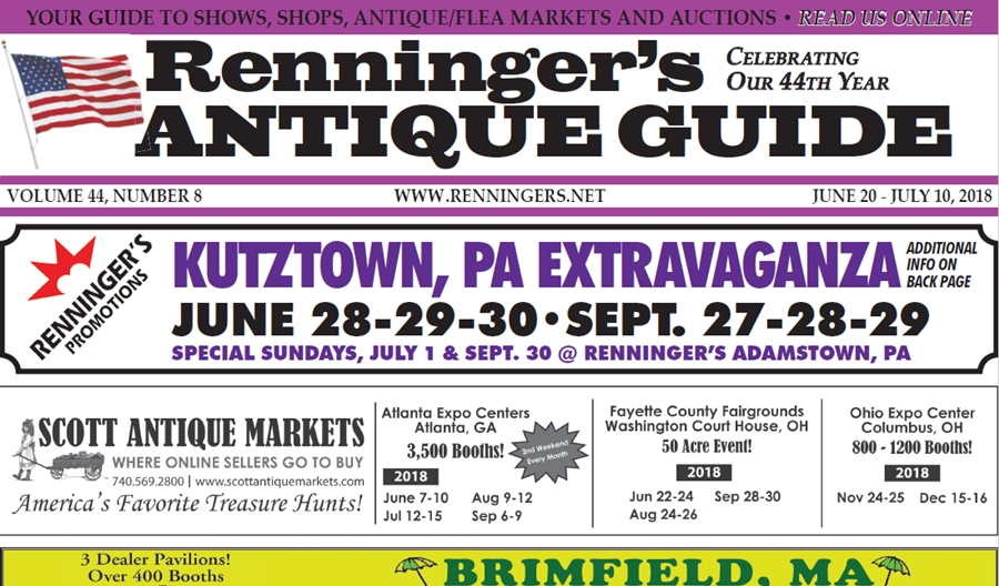 IRead the June 20th Issue of Renninger's Guide