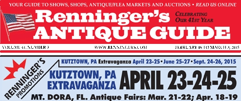 IRead the Latest issue of the Renninger's Antique Guide Newspaper