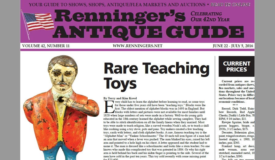 IRead the June 22nd Issue of Renninger's Guide