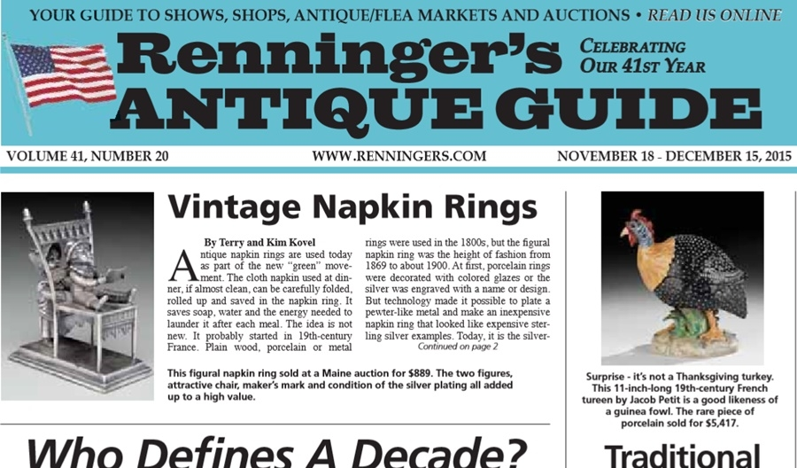 IRead the November 18th Issue of Renninger's Guide