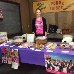 Fundraiser Booth